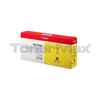 CANON IPF820 PFI-703Y INK TANK YELLOW 700ML